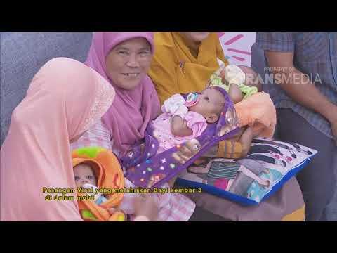 BROWNIS - Kisah Viral Seorang Ibu Yang Melahirkan 3 Anak Kembar Di Mobil (16/10/18) Part 3