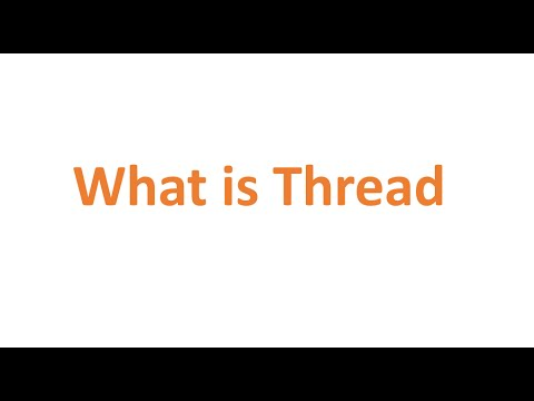 What is Thread (Computer Science)