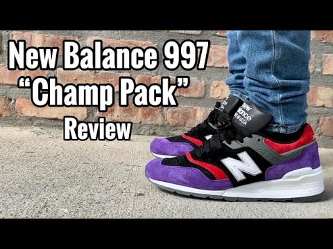 "Posicionamiento en buscadores queso Persona  New Balance 997 ""Toronto Raptors Champ Pack"" Review & On Feet - YouTube"