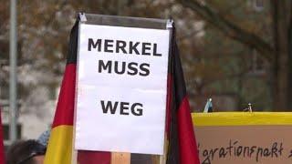 Manifestation anti-Merkel à Chemnitz