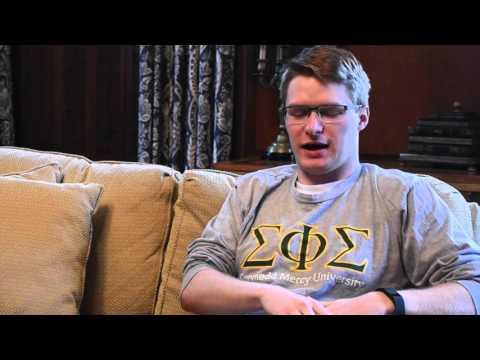GMercyU 2016 Student Speaker - Sean Welch