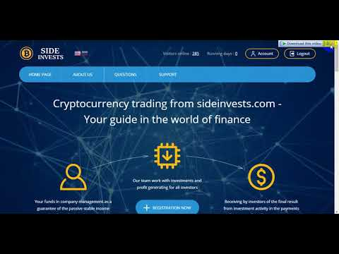 Explanation site sideinvests + prove withdrawal $ 10 + investment plans wonderful