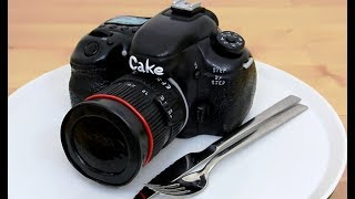 3D CAMERA CAKE by Cakes StepbyStep