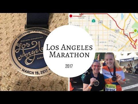 HOLY CRAP WE DID IT | Los Angeles Marathon 2017