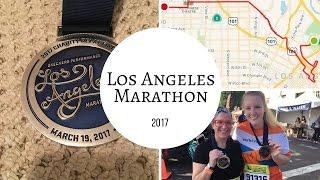 HOLY CRAP WE DID IT   Los Angeles Marathon 2017