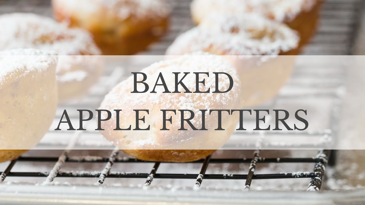 Baked Apple Fritters Recipe