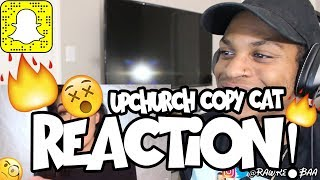 UPCHURCH HAS A COPY CAT ON HIS NUTS REACTION!! 😲😲
