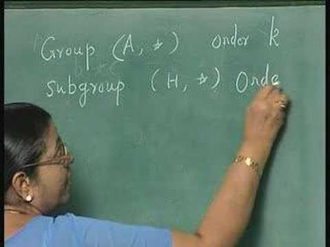 Lecture 37-Algebras(contd...)
