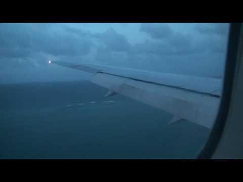 Air Seychelles landing at Seychelles Airport