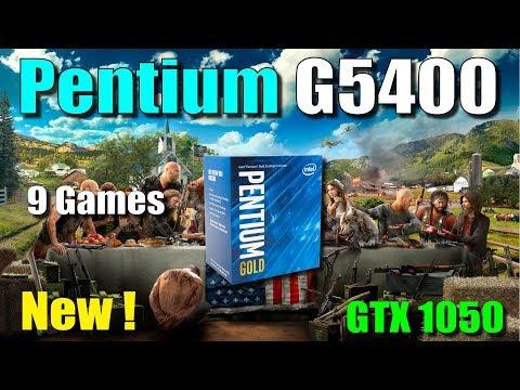 Intel Pentium G5400 Test in 9 Games