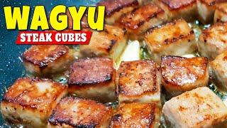 😮 How to Cook WAGYU STEAK CUBES 😘 Saikoro Steak ❤️ Food & Recipes We LOVE