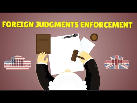 Enforcement of Foreign Judgments , explained | Lex Animata |  Hesham Elrafei