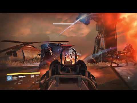 Destiny game play  