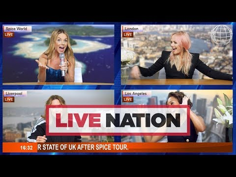 Spice Girls Announce Spice World UK Tour For 2019! | Live Nation UK