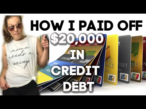 How To Get Out Of $20,000 In Credit Card Debt