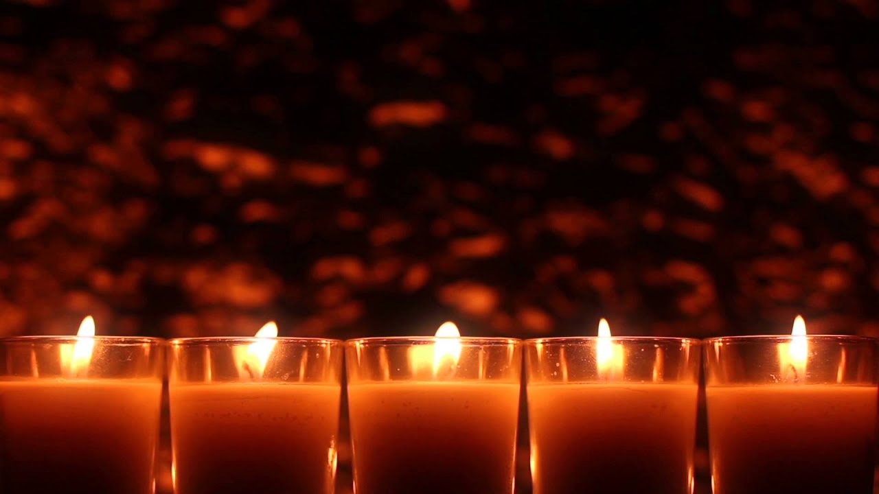 Votive Candles - HD Stock Footage Background Loop - YouTube