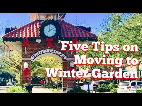 Five Helpful Tips on Moving to Winter Garden, FL
