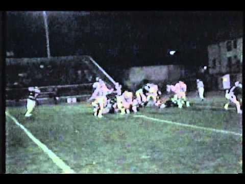 WPHS vs Weir Football Fall 1986 @ Old Wheeling Island Stadium