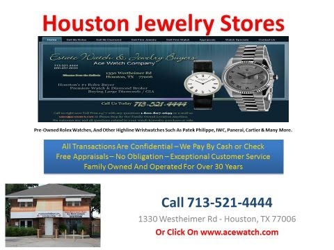 Houston Jewelry Stores - Estate Watch And Jewelry - Jewelry Stores In Houston Texas - Estate Watch