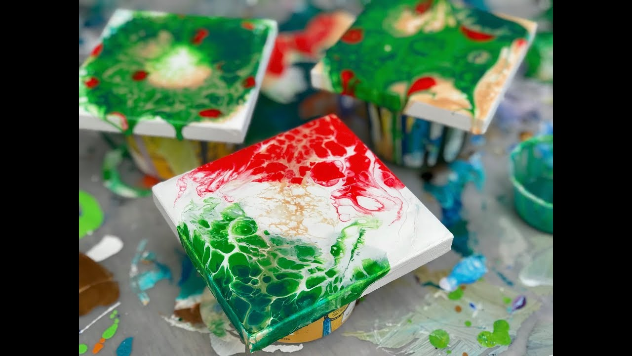 Acrylic Pour Painting: MORE Great Holiday Gift Ideas Tiny ...