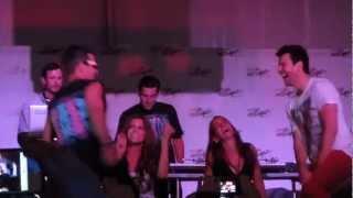 "NKOTB Donnie Wahlberg Joey McIntyre Jordan Knight ""Pony"" 8/18/2012 MixTape Festival Video"