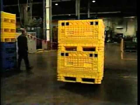 Buckhorn 174 Reusable Plastic Bulk Containers Amp Pallets