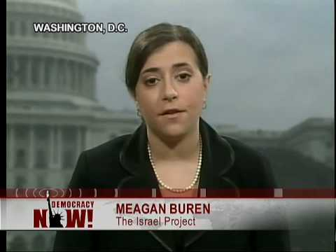 A Debate On Israel's Invasion of Gaza: UN v. Israel Project(1 of 2) on Democracy Now 1/5/09