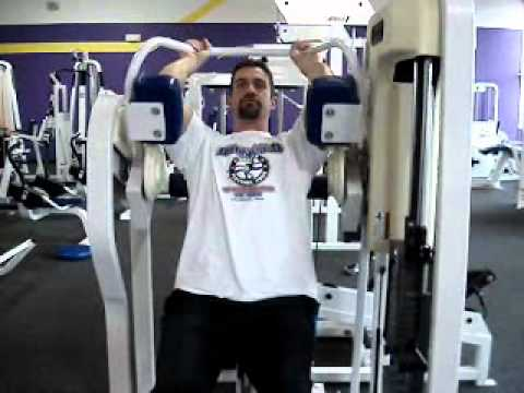 Seated Machine Pullover - YouTube