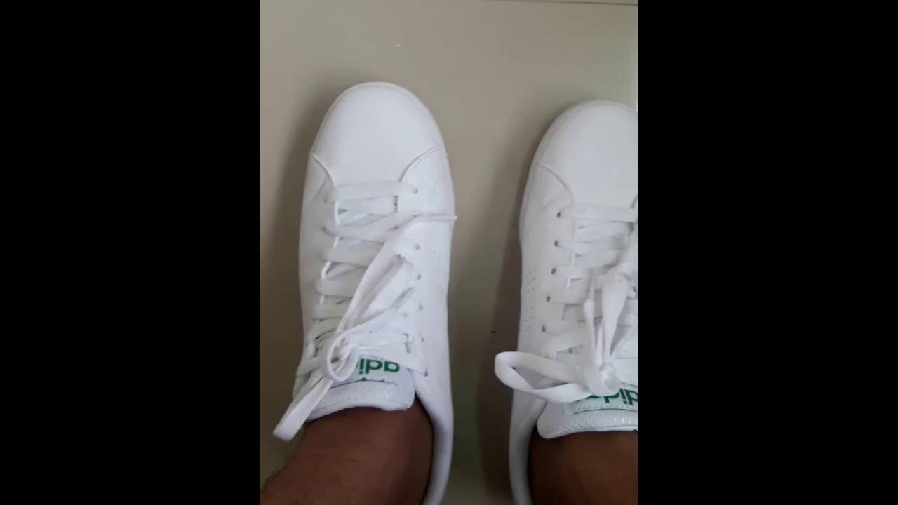 título repetir Inflar  Adidas Neo Advantage Vs clean White/Green - YouTube