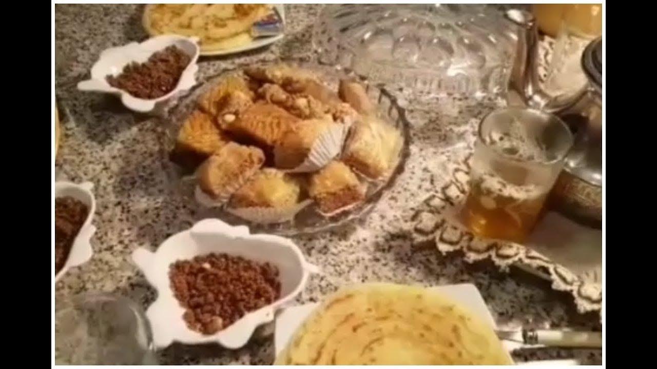 المطبخ البسيط |اول مائدة سحور/تهنئة بمناسبة رمضان الكريم