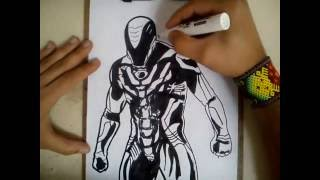 COMO DIBUJAR A MAX STEEL - MAX STEEL MOVIE / how to draw max steel - max steel movie