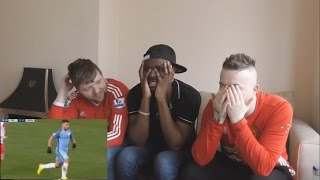 Manchester United fans React To: Manchester City vs Monaco 5-3 All Goals \\u0026 Highlights 21.2.2017