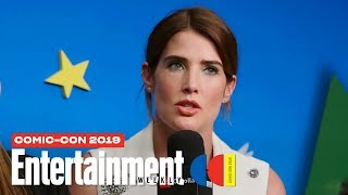 'Stumptown' Stars Cobie Smulders, Jake Johnson & Cast LIVE | SDCC 2019 | Entertainment Weekly