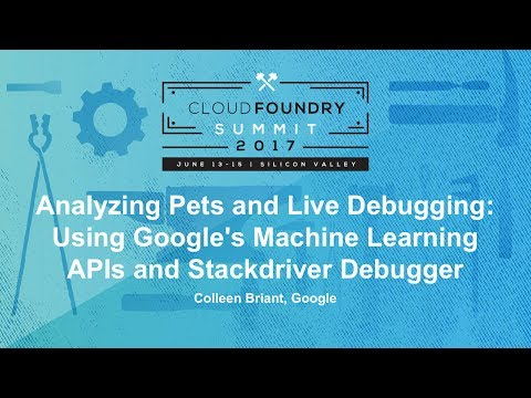 Analyzing Pets and Live Debugging: Using Google's Machine Learning APIs and Stackdriver Debugger