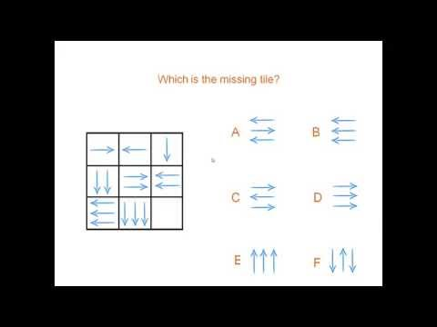 arrows - iq test complete the sequence - YouTube