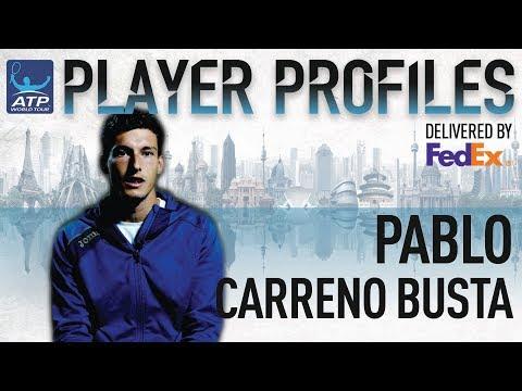 Pablo Carreno Busta FedEx ATP Player Profile 2017
