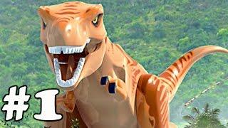 LEGO Jurassic World (iOS/Android) - Walkthrough Gameplay Part 1