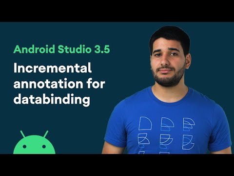 Incremental annotation for databinding - Android Studio 3.5 Features
