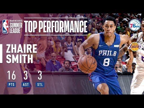Zhaire Smith Puts Up 16 Points In 2018 MGM Resorts Summer League Debut