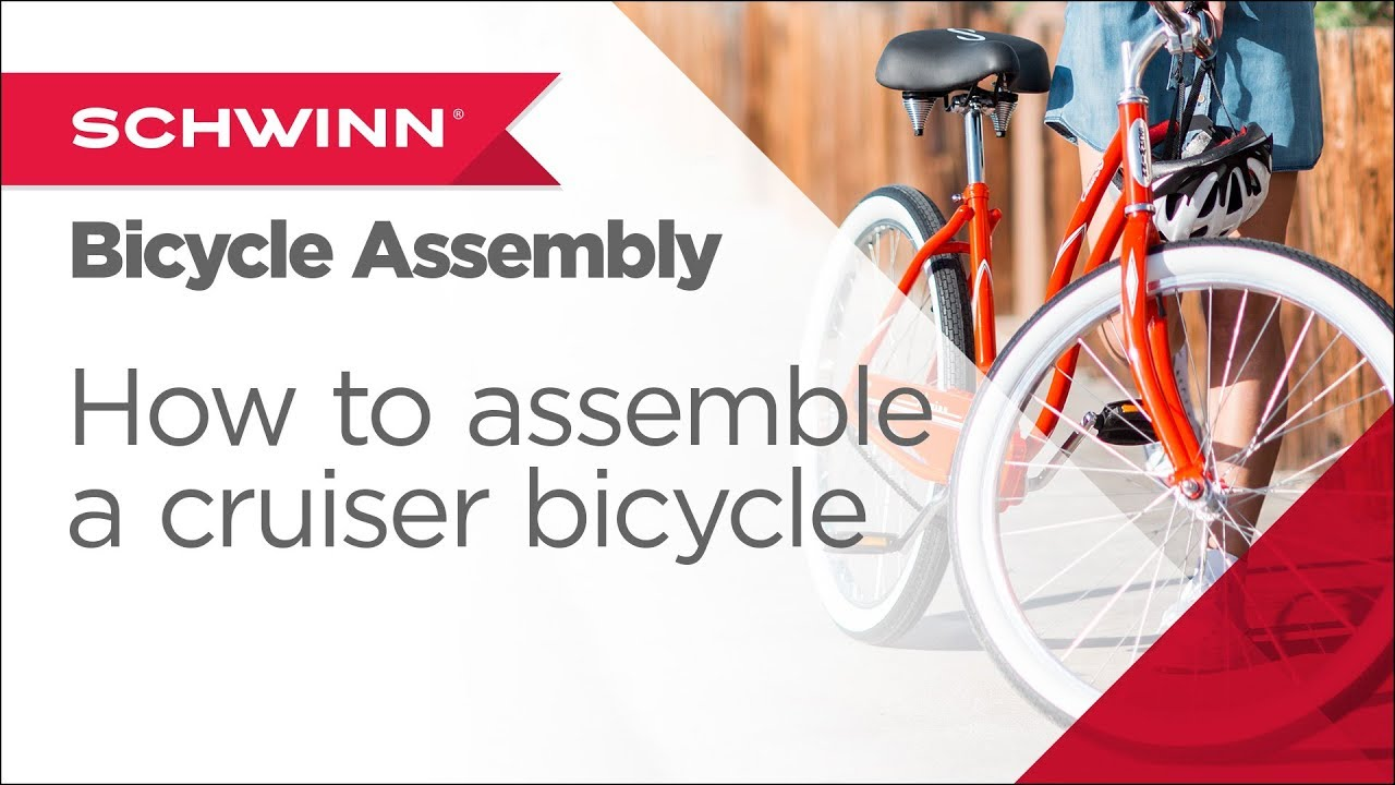 efb8debec29 How to Assemble a Schwinn Adult Cruiser Bicycle