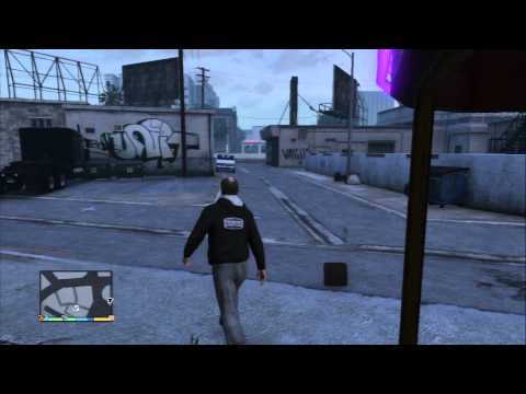 Grand Theft Auto V - Trevor at Vanilla Unicorn NUDITY CONTENT WARNING Ron Texts Sequence PS3