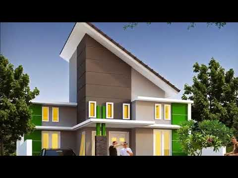 Rumah Minimalis Atap Miring Youtube