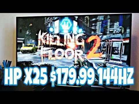 Gaming Monitor On The Deals | HP 25X 144hz Monitor