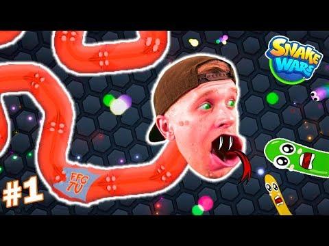 Вырастил ГИГАНТСКУЮ ЗМЕЮ в Игре как Slitherio на FFGTV Моя Новая Коллекция Змей