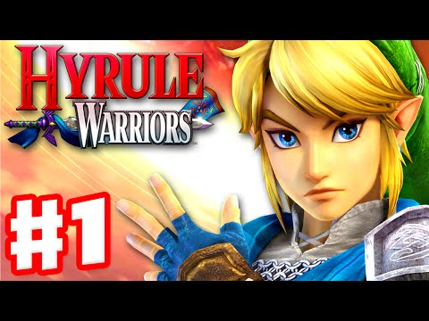 Hyrule Warriors - Gameplay Walkthrough Part 1 - Link in Hyrule Field! King Dodongo Boss! (Wii U)