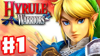 Hyrule Warriors - Gameplay Walkthrough Part 1 - Link in Hyrule Field! King Dodongo Boss! (Wii U)