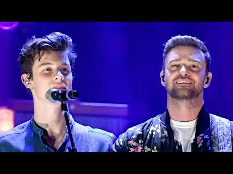 Shawn Mendes SURPRISES Fans with Justin Timberlake Duet at iHeartRadio Festival