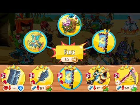 Angry Birds Epic - Walkthrough Gameplay - Craft Legend Weapon  (iOS Android)