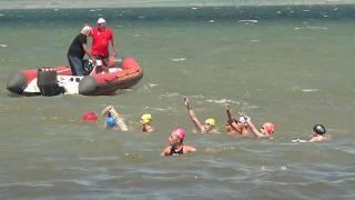 Эстафета 5 км Первенства России 2017 по плаванию на открытой воде, Таманский залив