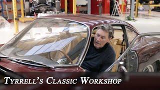 Ferrari Daytona & Lamborghini 350GT - Remedying 2 classic Italian V12s   Tyrrell's Classic Workshop
